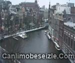 Amsterdam Amstel Canal Live Webcam