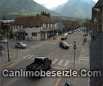 Canmore Main Street live webcam Canada