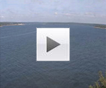 Sweden Åmålsviken från Fogdens fyr webcam