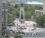 The National War Memorial live webcam Ottawa Canada