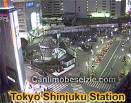 Tokyo Shinjuku Station Live Cam
