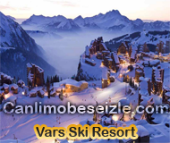 Vars Ski Resort live cam