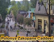 Polonya Zakopane Caddesi Canlı izle