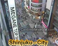 Tokyo Shinjuku City Live Cam