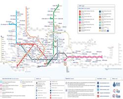 İstanbul Raylı Sistemler Erişim Haritası