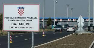 Bajakovo sınır kapısı canli izle