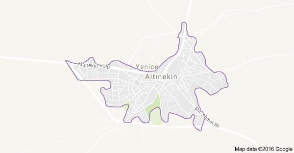 Konya Altınekin Uydu Görüntüsü ve Haritası