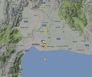 Antalya Havalimanı Canlı Uçuş Takibi