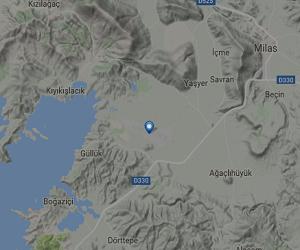 Milas Bodrum Havalimanı Canlı Uçuş Takip