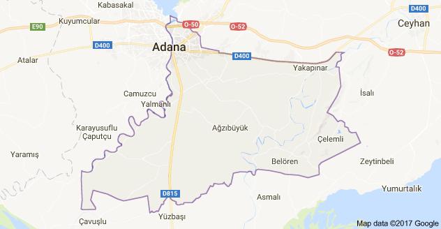 Yüreğir Uydu Görüntüsü Uydu Harita Adana