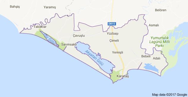 Karataş Uydu Görüntüsü Uydu Harita Adana