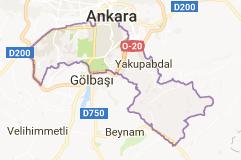 Çankaya Uydu Görüntüsü Ankara