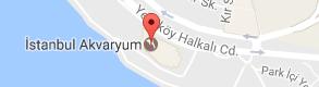 İstanbul Akvaryum Uydu Görüntüsü, Harita