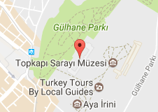 İstanbul Arkeoloji Müzeleri Uydu Görüntüsü, Harita
