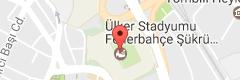 Şükrü Saracoğlu Stadyumu Uydu Görüntüsü ve Harita