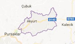 Akyurt Uydu Görüntüsü Ankara