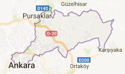 Altındağ Uydu Görüntüsü Ankara
