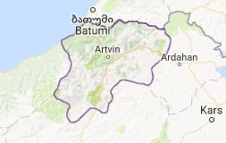 Artvin Uydu Görüntüsü Uydu Haritası