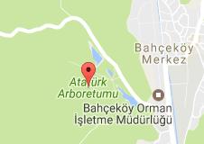 Atatürk Arboretumu Uydu Görüntüsü, Harita