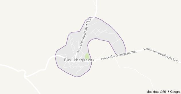 Cihanbeyli Büyükbeşkavak Uydu Görüntüsü ve Harita