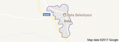 Bala Uydu Görüntüsü Ankara