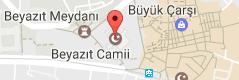 Bayezid Camii Uydu Görüntüsü ve Harita