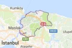 İstanbul Beykoz Uydu Görüntüsü