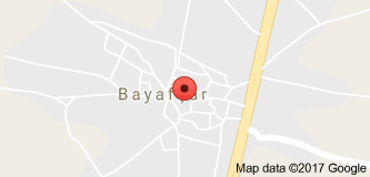 Beyşehir Bayavşar Uydu Görüntüsü