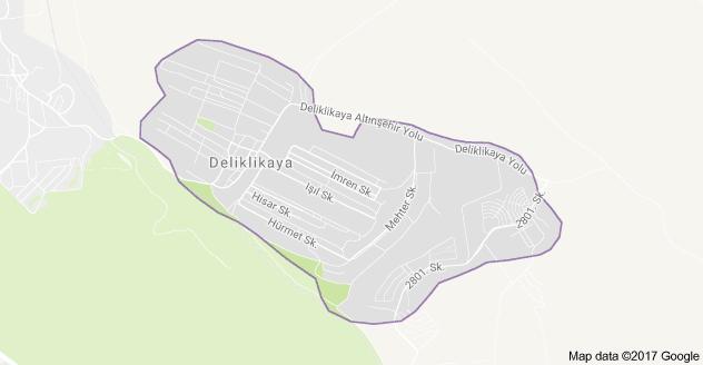 Deliklikaya Mahallesi Uydu Görüntüsü ve Haritası Arnavutköy