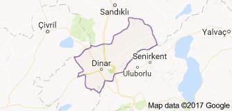 Dinar Uydu Görüntüsü izle Afyonkarahisar