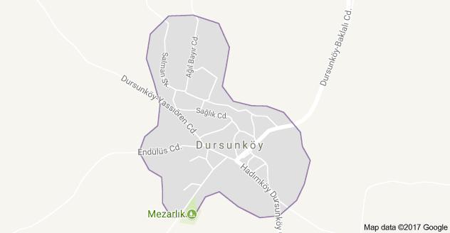 Dursunköy Mahallesi Uydu Görüntüsü ve Haritası Arnavutköy