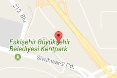 Eskişehir Otogarı Uydu Görüntüsü