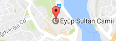 Eyüp Sultan Camii Uydu Görüntüsü, Harita