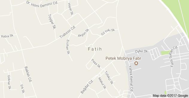 Fatih Mahallesi Uydu Görüntüsü ve Haritası Arnavutköy