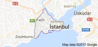 Fatih Uydu Görüntüsü ve Haritası
