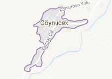 Göynücek Uydu Görüntüsü Amasya