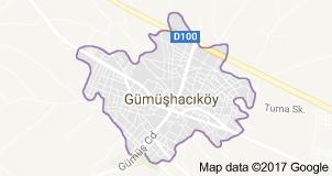 Gümüşhacıköy Uydu Görüntüsü Amasya