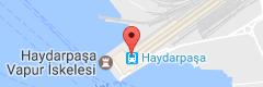 Haydarpaşa Garı Uydu Görüntüsü, Harita, Nerede