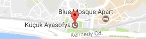 Küçük Ayasofya Camii Uydu Görüntüsü, Harita