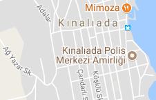 Kınalıada Uydu Görüntüsü ve Haritası Adalar İstanbul