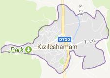 Kızılcahamam Uydu Görüntüsü Ankara