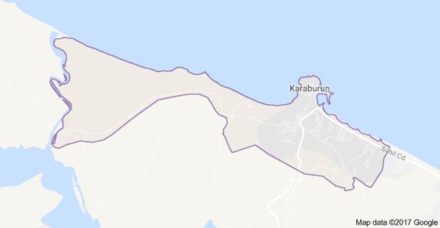 Karaburun Mahallesi Uydu Görüntüsü ve Haritası Arnavutköy