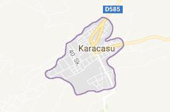 Karacasu Uydu Görüntüsü Uydu Haritası Aydın