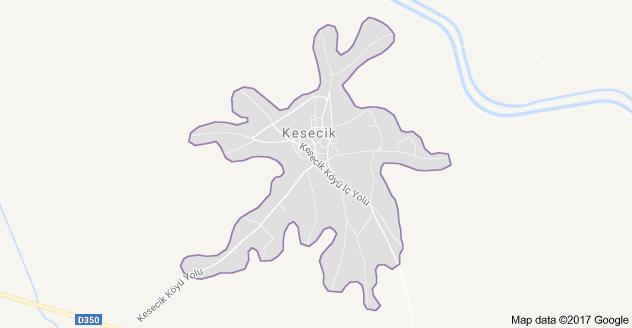 Seydişehir Kesecik Uydu Görüntüsü