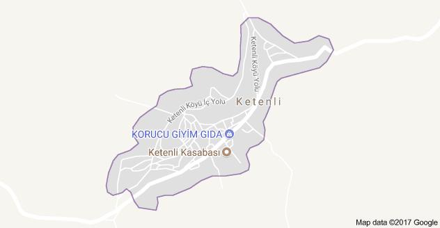 Seydişehir Ketenli Uydu Görüntüsü