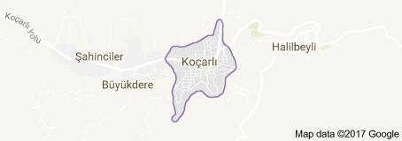 Koçarlı Uydu Görüntüsü Uydu Haritası Aydın