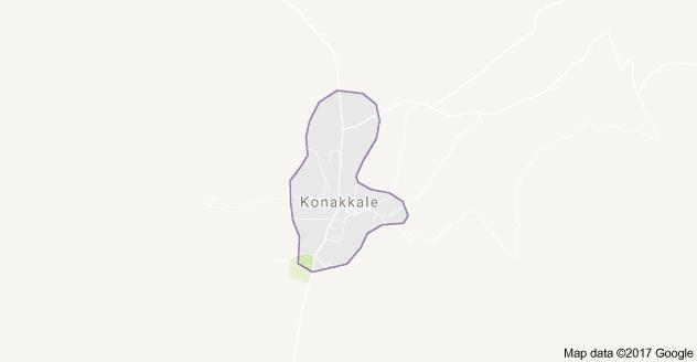 Doğanhisar Konakkale Uydu Görüntüsü, Harita