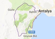 Konyaaltı Uydu Görüntüsü Uydu Haritası Antalya