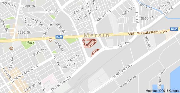 Mersin Otogarı Uydu Görüntüsü