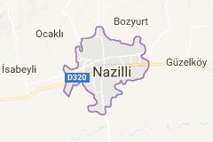 Nazilli Uydu Görüntüsü Uydu Haritası Aydın